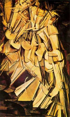 MARCEL DUCHAMP. Nude Descending